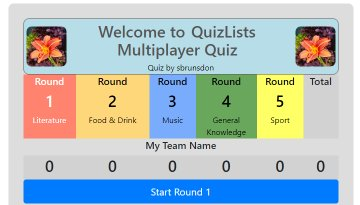 Multiplayer Quizzes